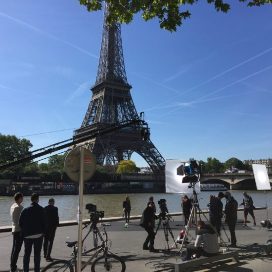 Institutionnel tournage paris seine