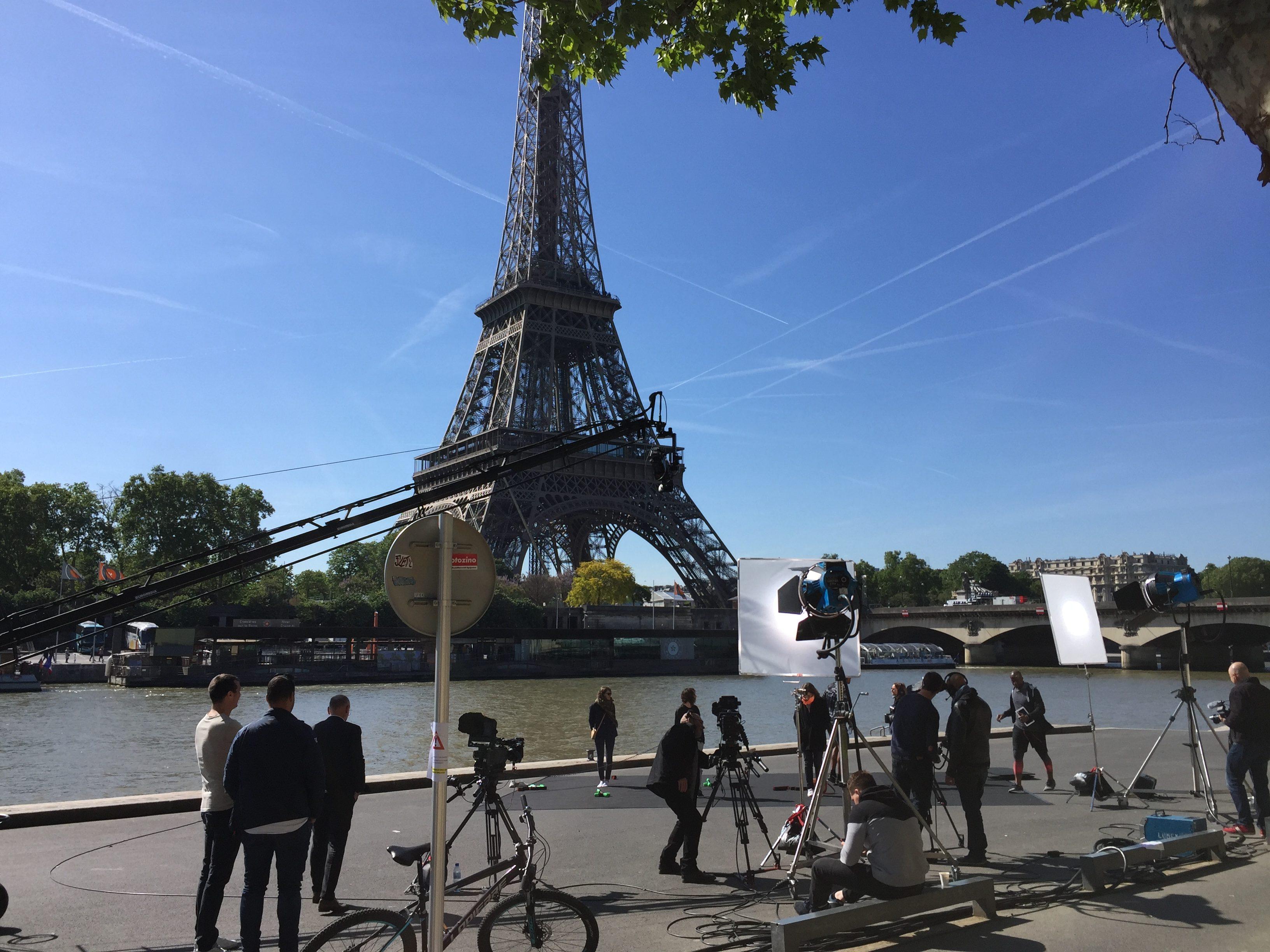 Institutionnel tournage paris seine