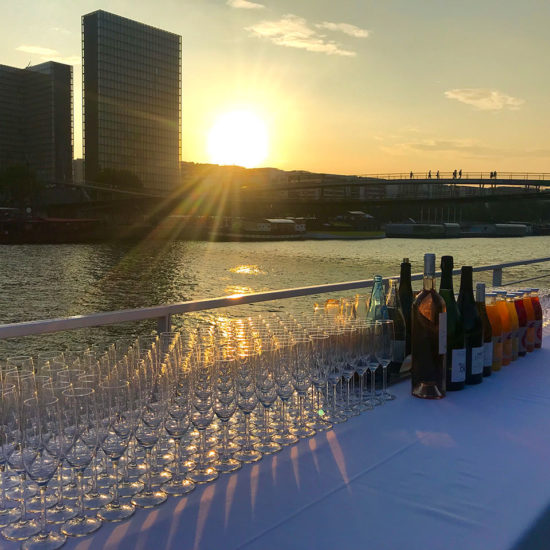 Soiree buffet cocktail entreprise paris seine